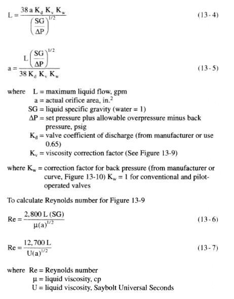 Liquids Flow Rate