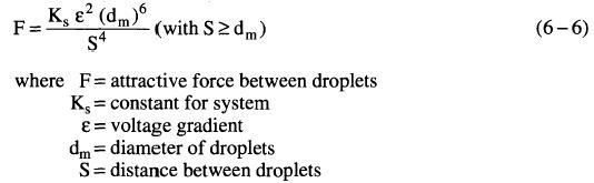 Electrostatic Coalescers Process
