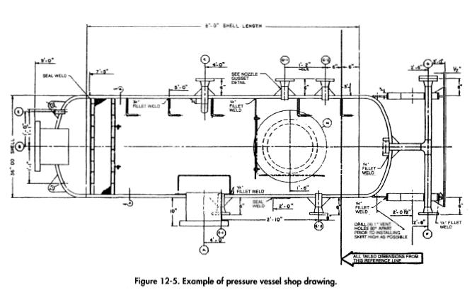 Separator Pressure Vessels Shop Drawings