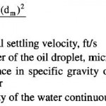 Gravity Separation Water Treating